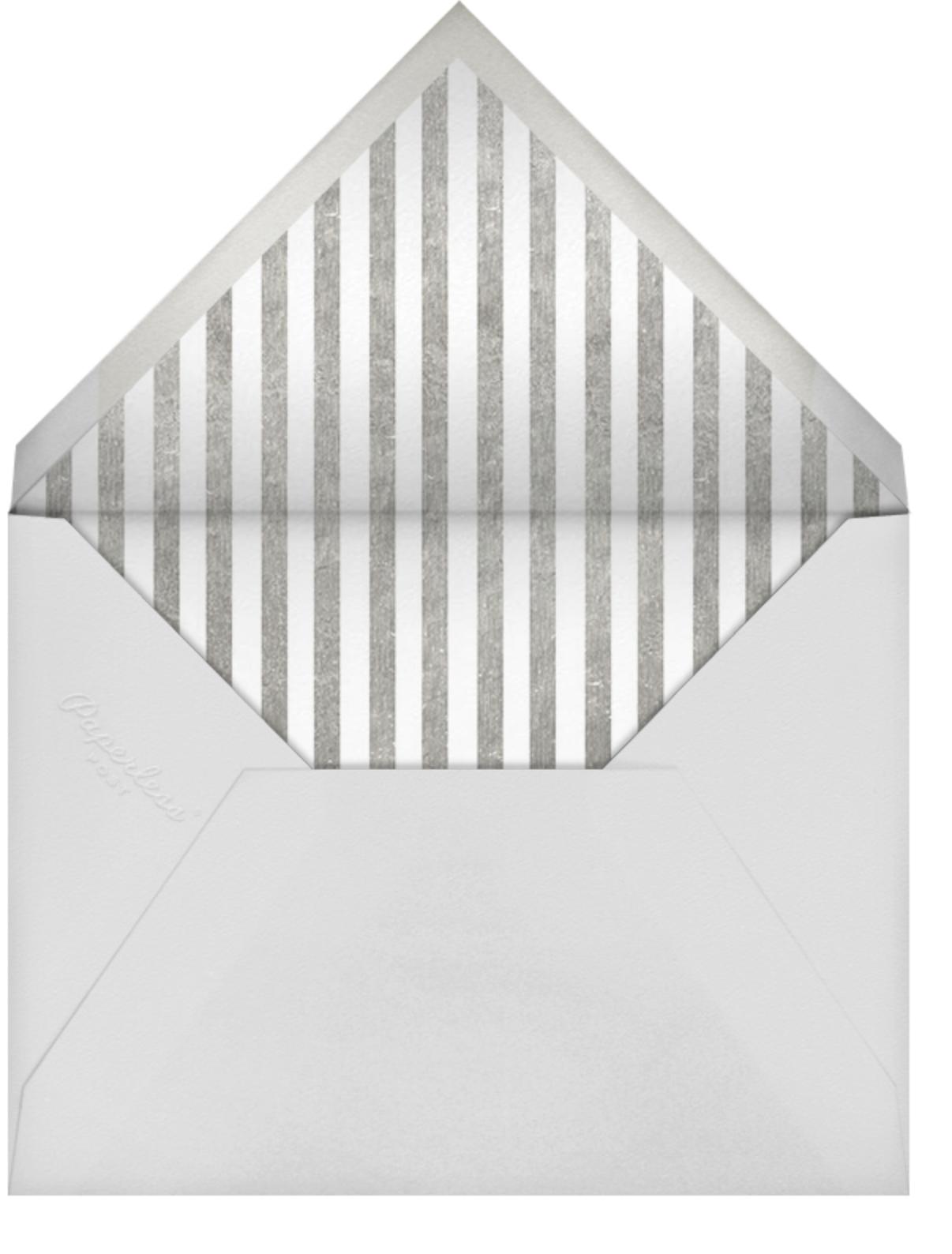 Santorini Too - Blue - Jonathan Adler - Hanukkah - envelope back