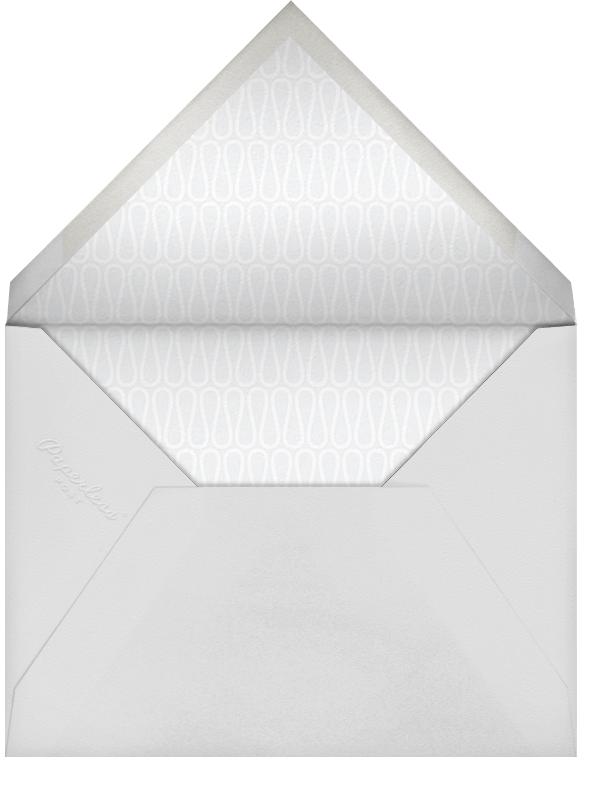 Elephant's Menorah - Blue - Jonathan Adler - Hanukkah - envelope back