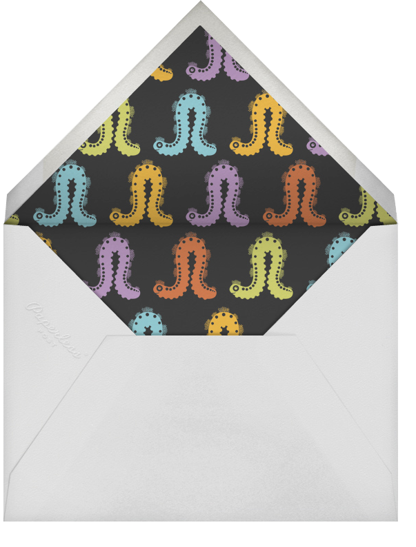Caterpillar - Mandarin - Bernard Maisner - null - envelope back