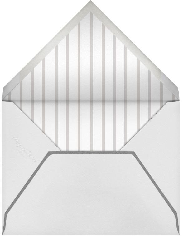Triple Inner Bevel - Ivory (Horizontal) - Paperless Post - Wedding - envelope back