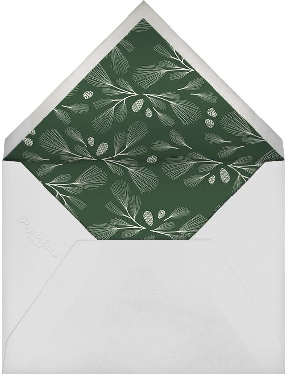Sugar Pine - Santa Fe/Gold - Paperless Post - Winter entertaining - envelope back