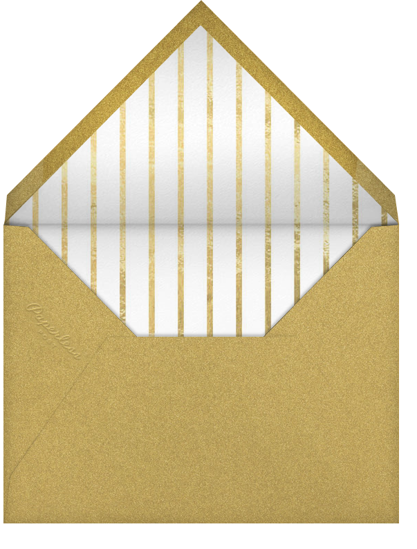 Snapshot Gold - Square - Paperless Post - Save the date - envelope back