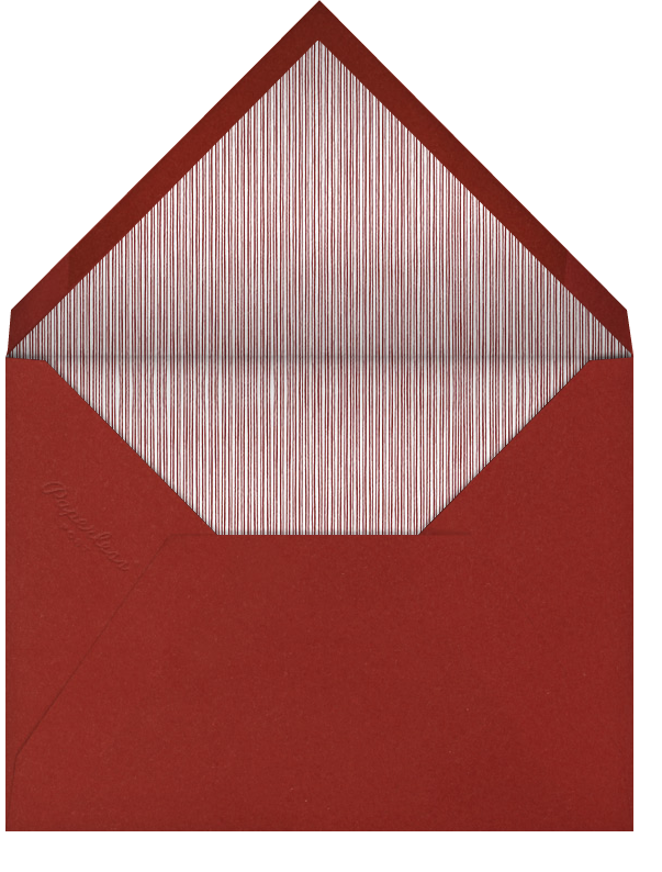 Spirals Horizontal - Red And Blue - Paperless Post - Envelope