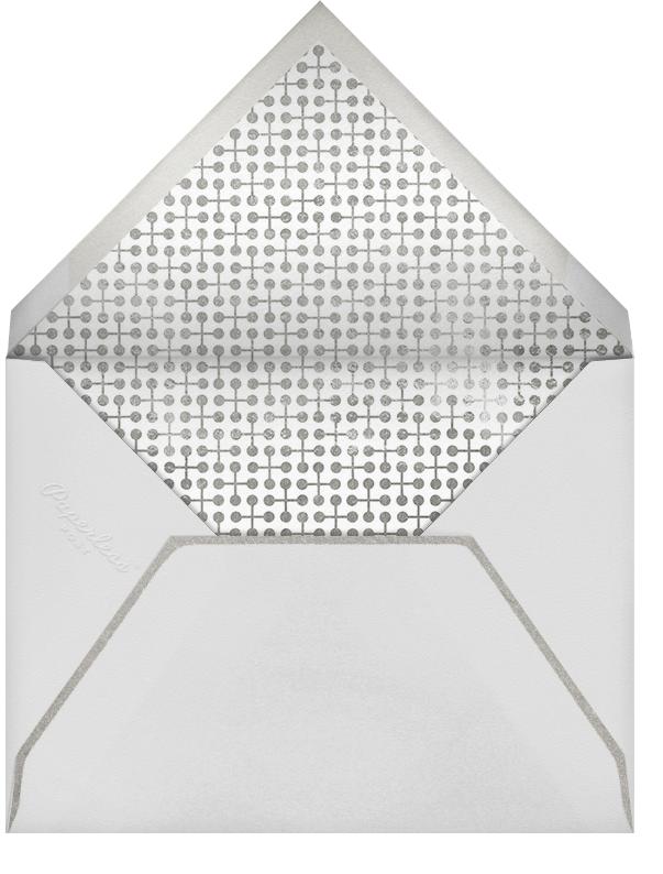 Wonderful Holiday - Metallics - Paperless Post - Company holiday cards - envelope back