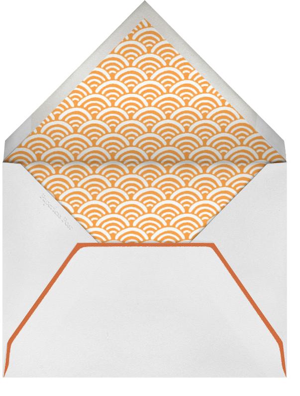 Edge Stain - Tangelo Horizontal - Paperless Post - Wedding - envelope back