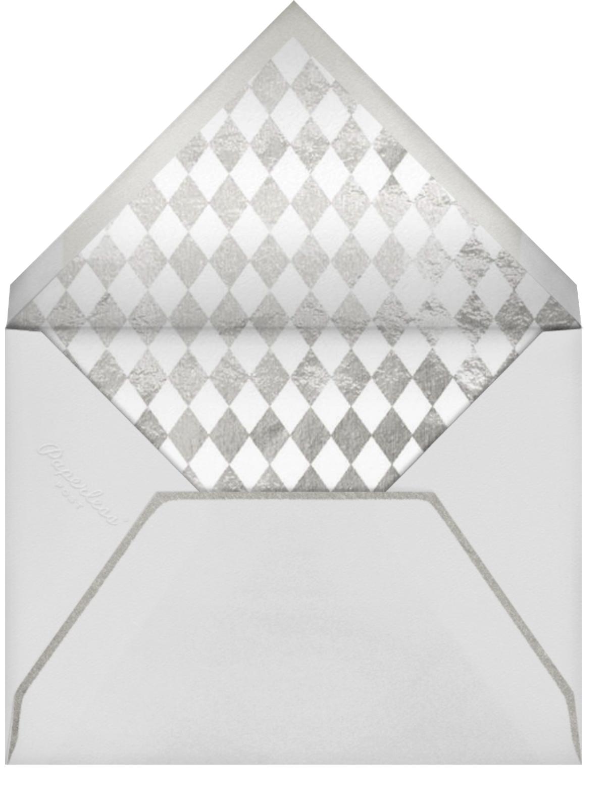 Snapshot Silver - Square - Paperless Post - Envelope