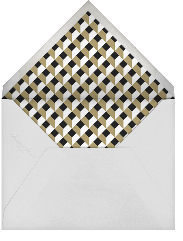 Vegas Welcome - Pitch - Paperless Post - Party save the dates - envelope back