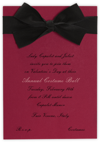 Madame X - Paperless Post - Valentine's Day invitations
