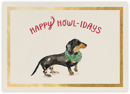 Happy Howlidays - Gold - Derek Blasberg -