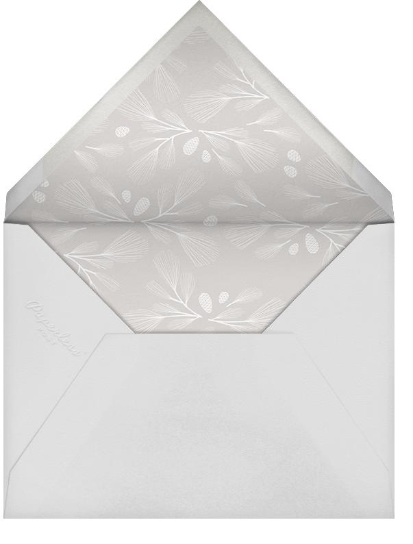 Sugar Pine - Ivory/Gold - Paperless Post - Winter entertaining - envelope back