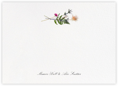 Fleurs Sauvages (Stationery) - Paperless Post - Personalized Stationery