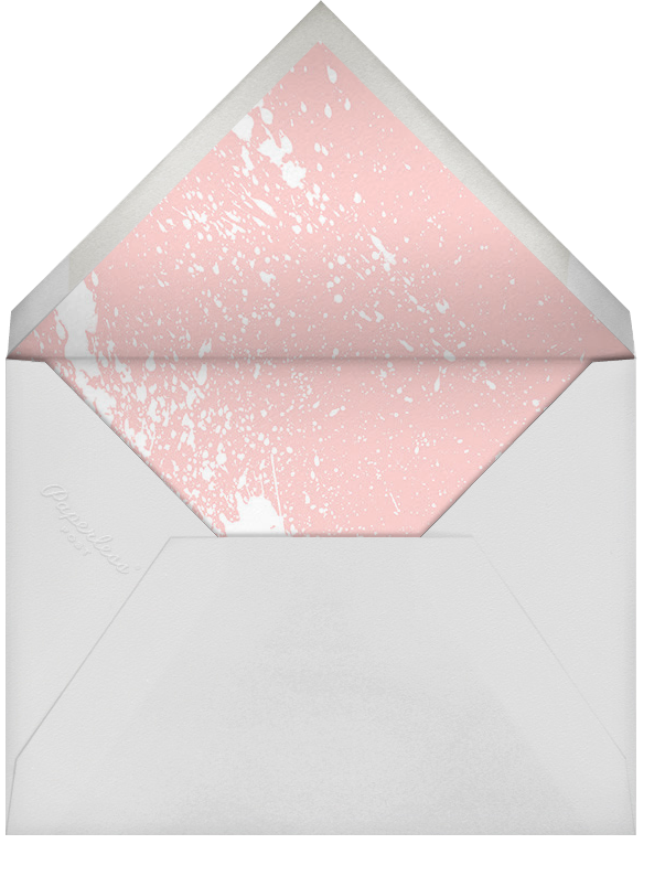 Splatter Cloth II - Gold - Paperless Post - All - envelope back
