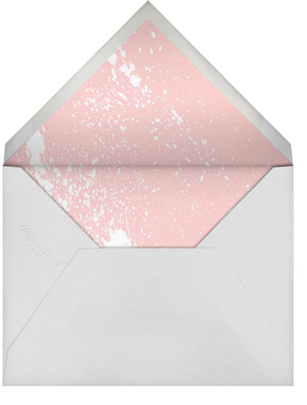 Splatter Cloth II (Save the Date) - Gold - Paperless Post - Modern  - envelope back
