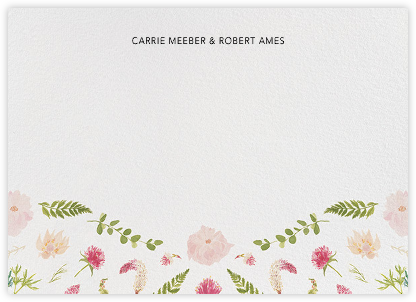 Fleurs de Printemps (Stationery) - Paperless Post - Personalized Stationery
