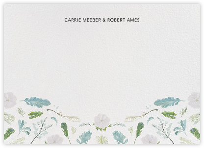 Fleurs d'Hiver (Stationery) - Paperless Post - Personalized stationery