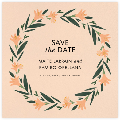 Des Tropiques (Save the Date) - Paperless Post - Save the dates