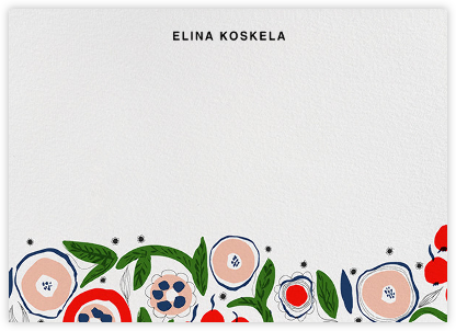 Katinala (Stationery) - Marimekko - Personalized Stationery