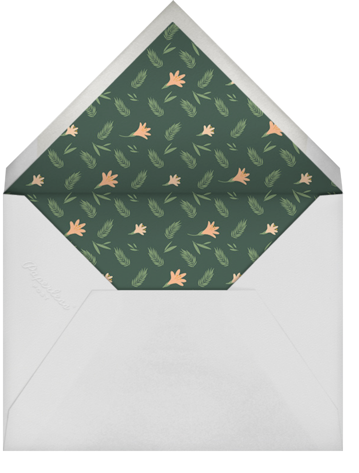 Des Tropiques (Save the Date) - Paperless Post - Save the date - envelope back