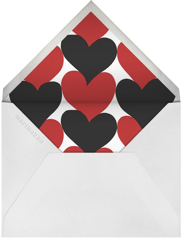 Siamilaissydamet - Marimekko - Sorority events - envelope back