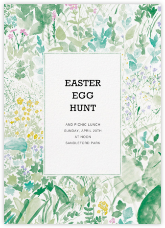Kesanto (Tall) - Marimekko - Easter Invitations