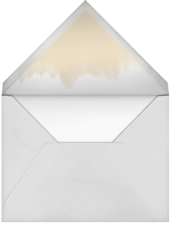 Pictured Frame - Gold - Paperless Post - Photo  - envelope back
