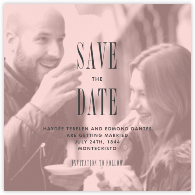 Quai II (Save the Date) - Pavlova - Paperless Post - Save the dates