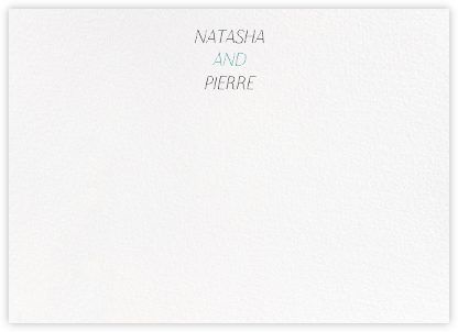 Insigne II (Stationery) - Ivory - Paperless Post - Personalized Stationery