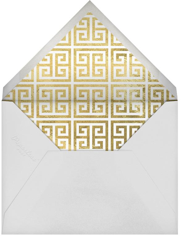 Greek Key (Metallic) - Gold - Jonathan Adler - Envelope