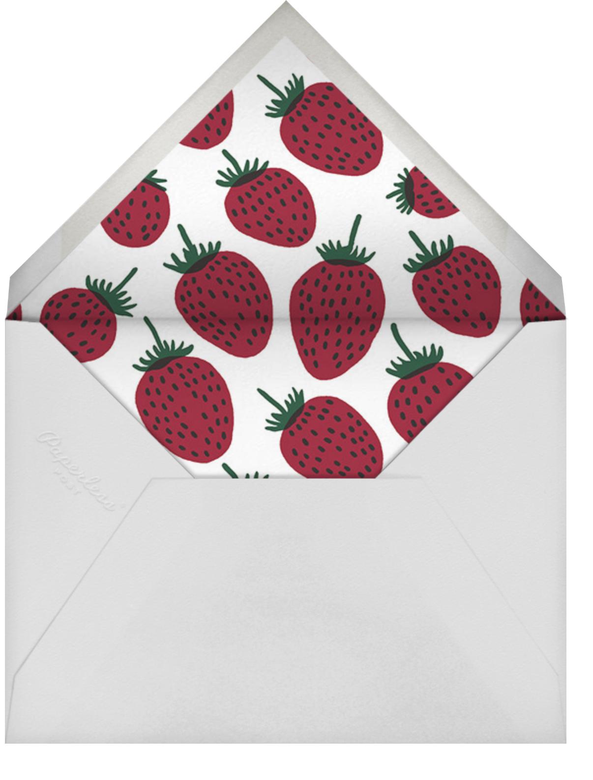 Pieni Mansikka - Marimekko - Brunch - envelope back