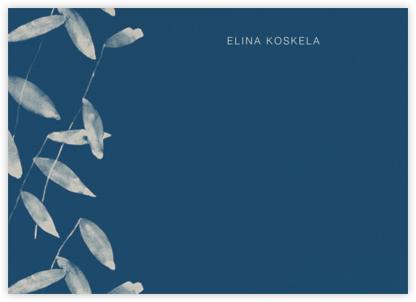Salava (Stationery) - Blue - Marimekko - Personalized Stationery