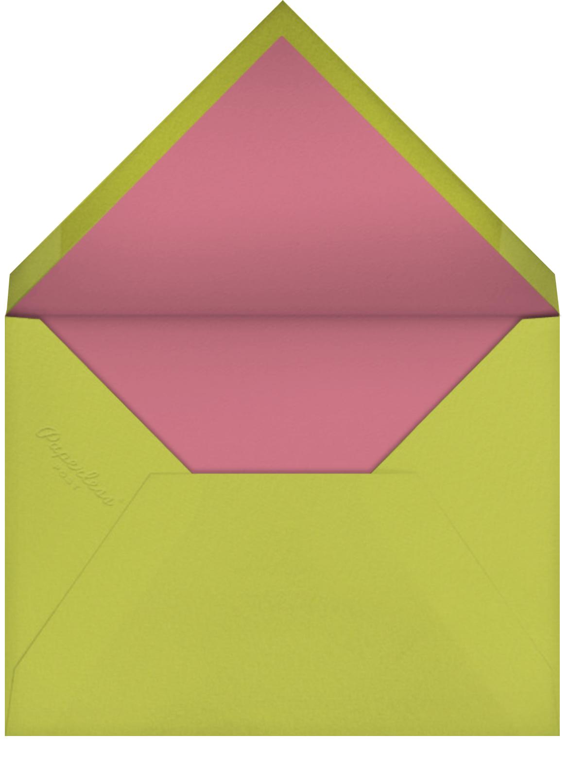 Snappy Birthday (Nicholas John Frith) - Red Cap Cards - Birthday - envelope back