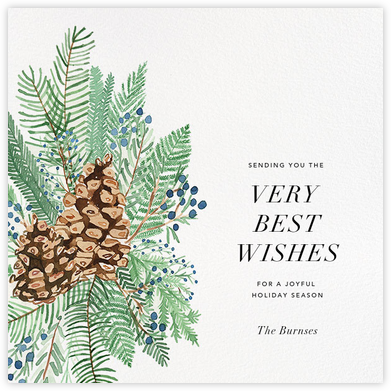 Juniper and Pine - Paperless Post - Company holiday cards