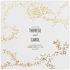 Evoke (Save the Date) - White/Gold