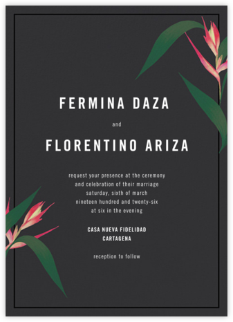 Paradisier - Paperless Post - Modern wedding invitations