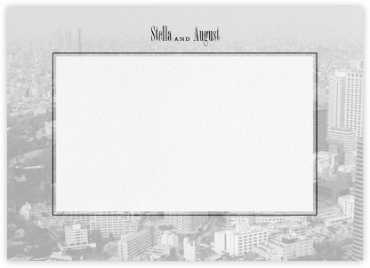 City Panoramic (Stationery) - Ivory | null