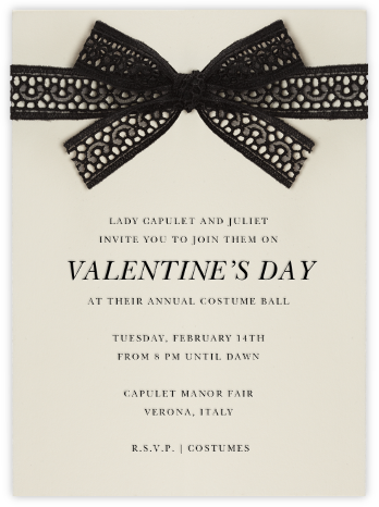 Merletto - Paperless Post - Valentine's Day invitations
