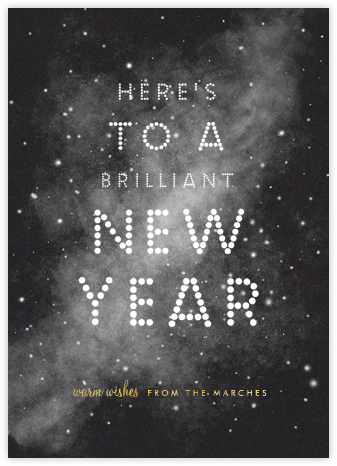 Hubble - Paperless Post - New Year Cards