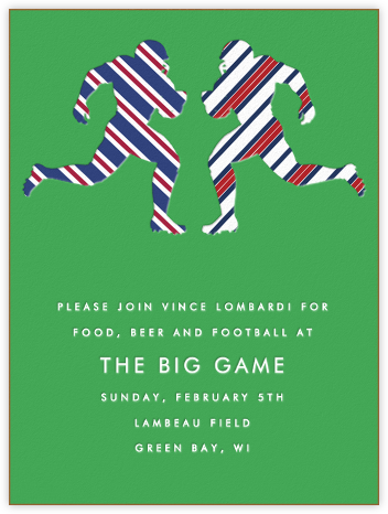 Gridiron - Paperless Post - Sporting Event Invitations