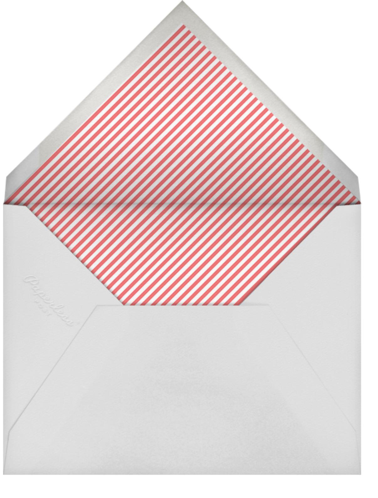 Born in Rose Garden - Blues - Mr. Boddington's Studio - Baby shower - envelope back