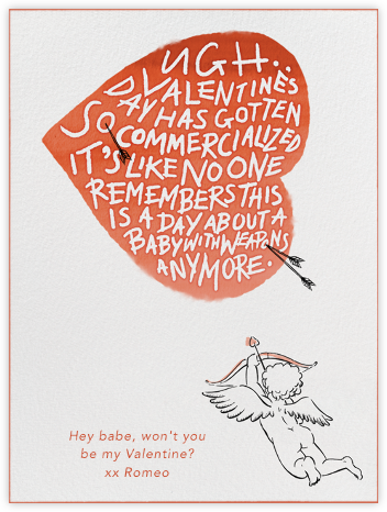 Stupid Cupid - Paperless Post - Valentine's Day Cards