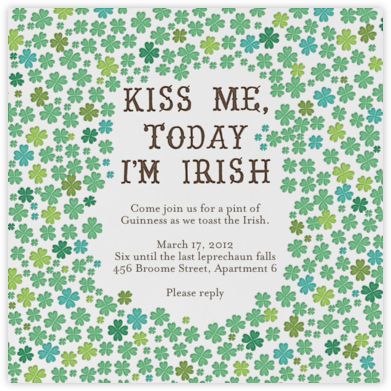 Kiss Me Im Irish - Mr. Boddington's Studio -