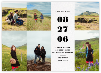 Sugar Maple - Paperless Post - Modern save the dates