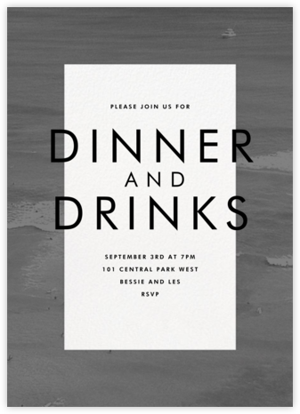Density - Black - Paperless Post - Dinner Party Invitations