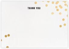 Confetti (Stationery) - White/Gold