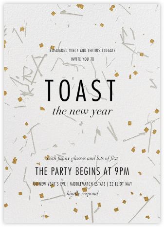 Fetiluxe - White - Kelly Wearstler - New Year's Eve Invitations