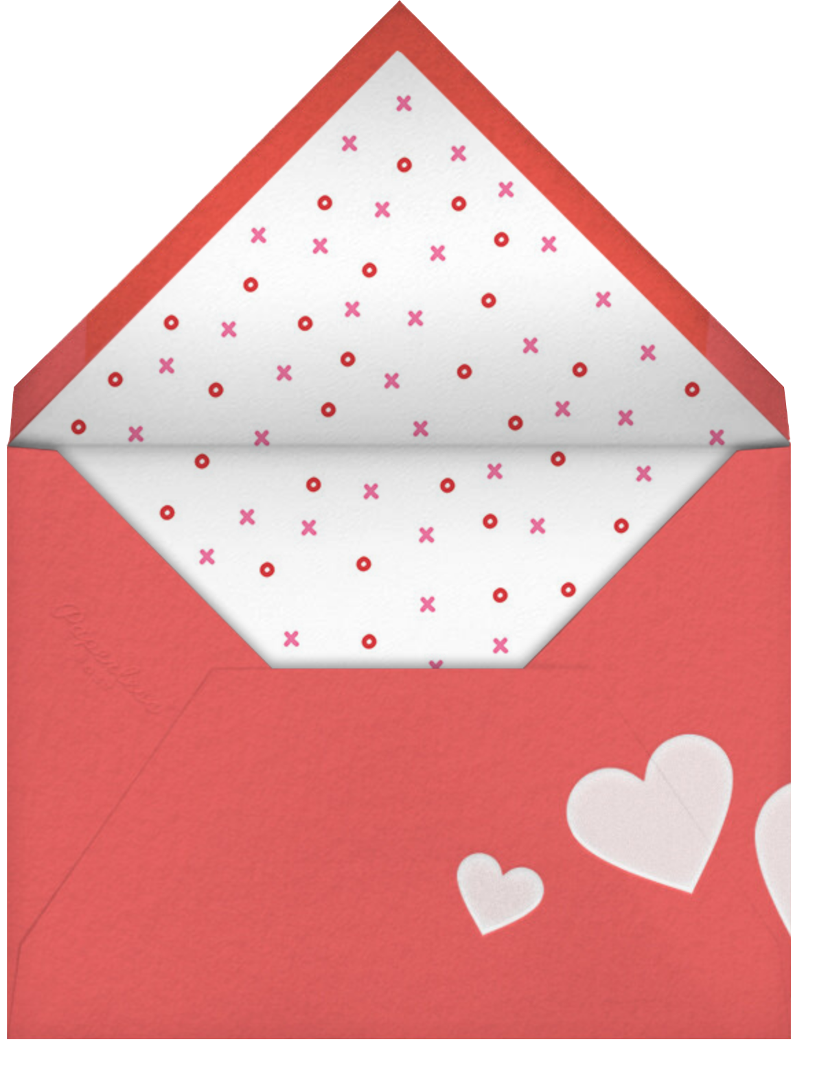 Red Letter Day - Paperless Post - Valentine's Day - envelope back