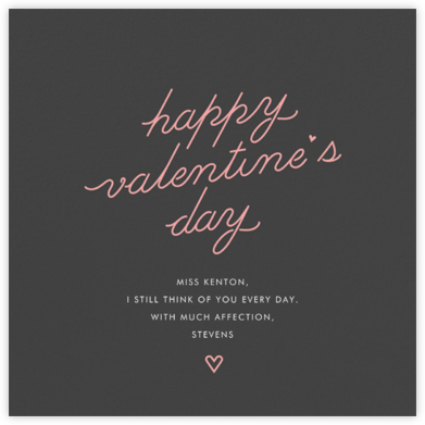 Pastel Neons - Paperless Post - Valentine's Day Cards