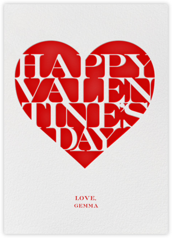 Valentine's Knockout - Paperless Post - Valentine's Day Cards