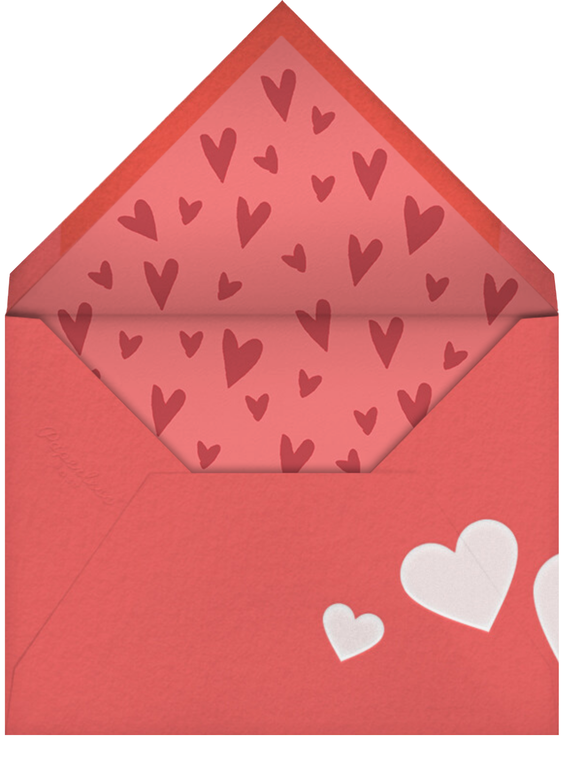 70s Love - Paperless Post - Valentine's Day - envelope back