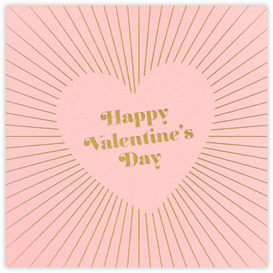 Retro Valentine's Day - Paperless Post -